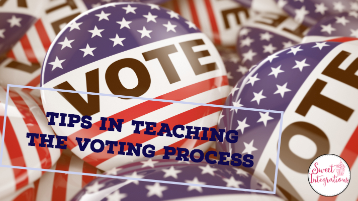"vote buttons with text ""Tips in Teaching the Voting Process"""