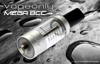 Clearomiseur VapeOnly Mega BCC