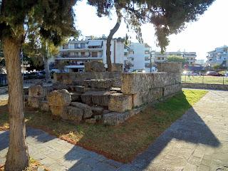 το Λεωνίδαιον στη Σπάρτη