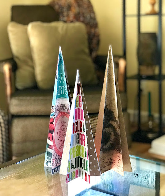 easy paper christmas trees lisa fulmer