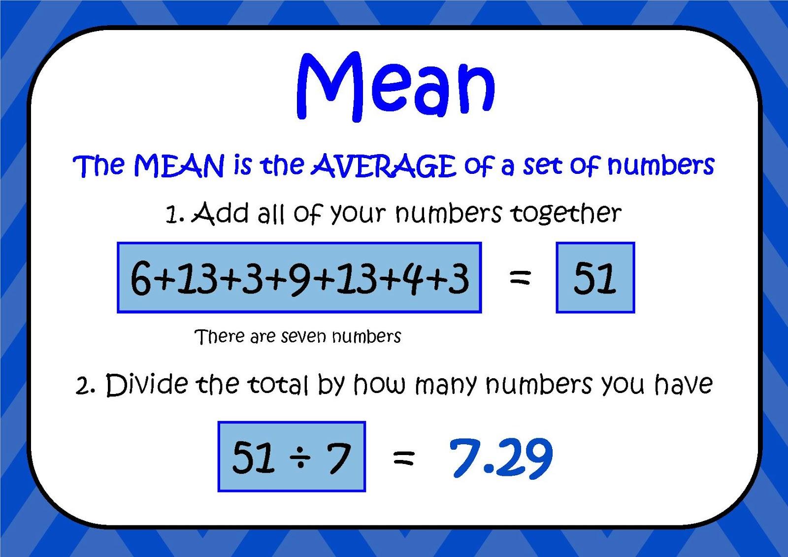 miss allen s 6th grade math mean