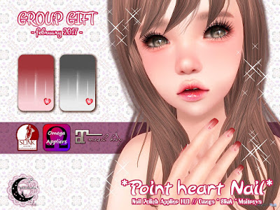 Point Heart Nail Applier Group Gift by petit chambre