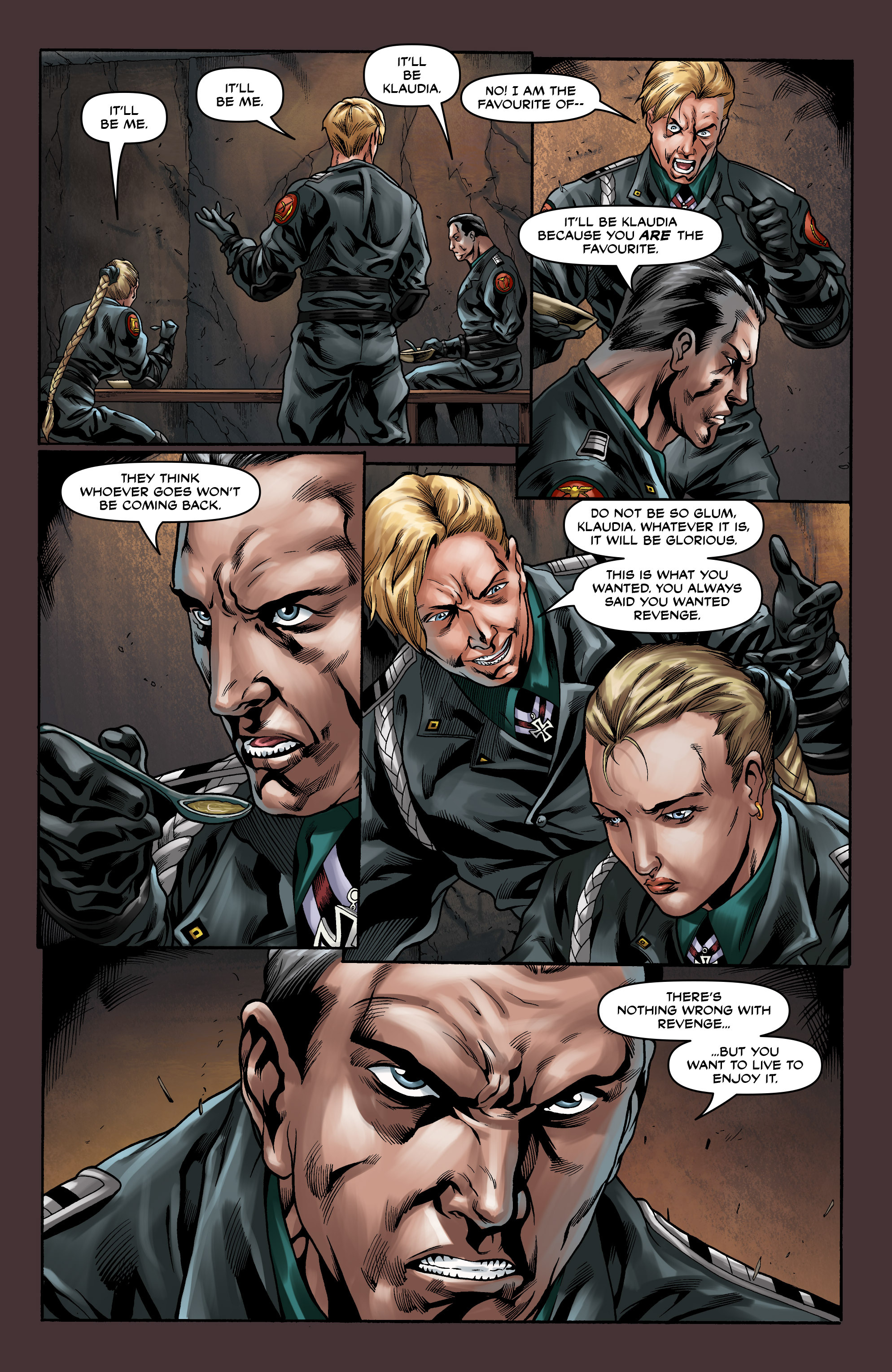 Read online Uber comic -  Issue #10 - 17