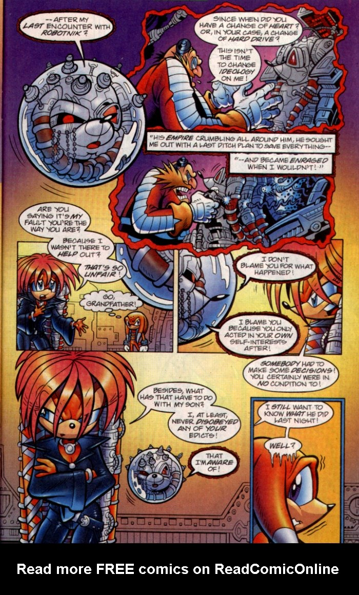 Read online Sonic The Hedgehog comic -  Issue #135 - 20