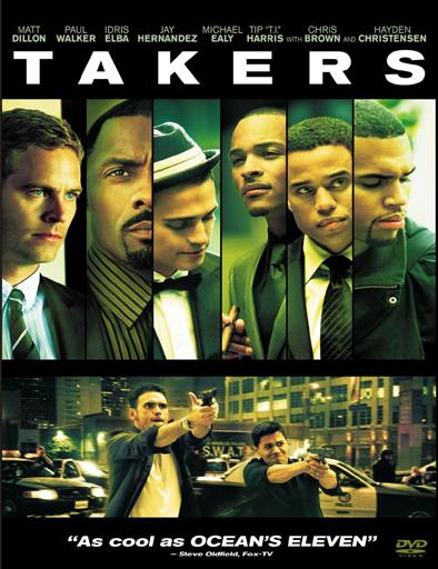 Ver El escuadrón del crimen (Takers) (2010) Online