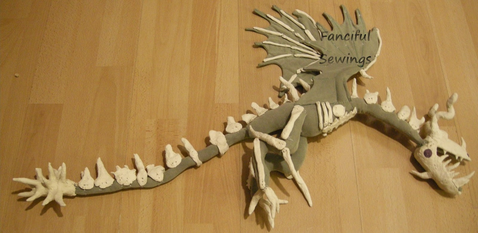 How to Sew Your Dragon - Fanciful Sewings