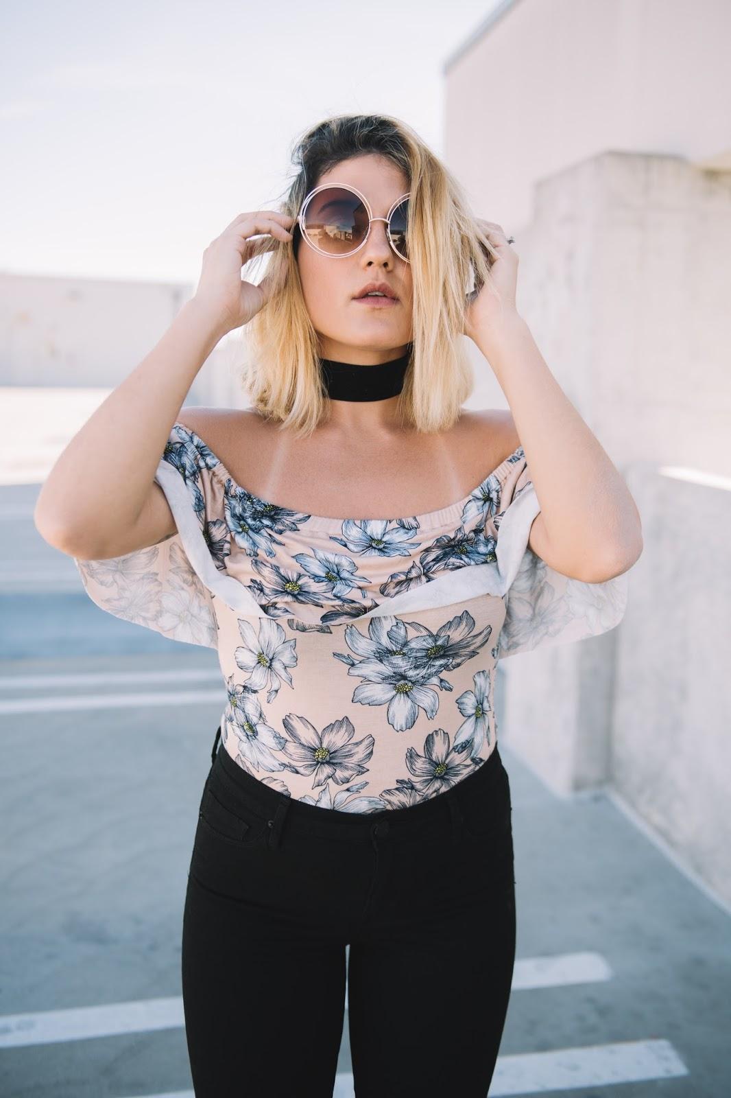 Clayton Eva Bodysuit -- Blogger @taylorwinkelmeyer