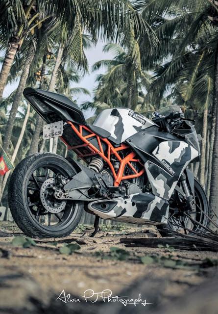 "KTM RC 200 ""CamoBoy"" Modified by Alwin PJ"