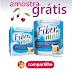 Amostras Grátis - Fibra Alimentar Fiber Mais