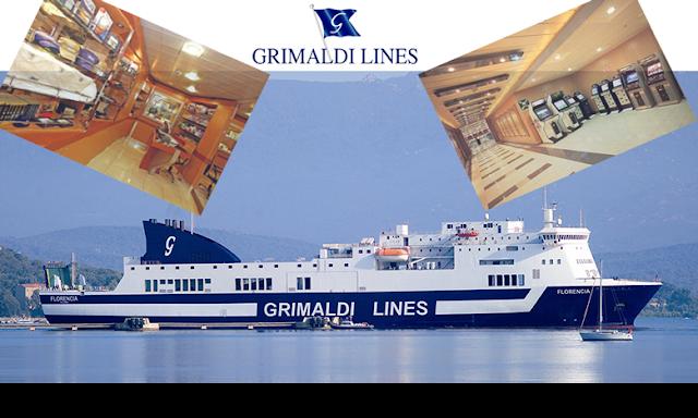 Billets pas cher de ferry sur Grimaldi Lines Tunisie