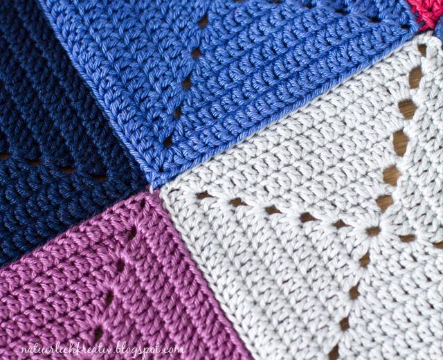Decke Häkeln Aus Quadraten My Blog