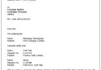 Contoh Surat Permohonan Visa Bahasa Inggris Ydhartonocom