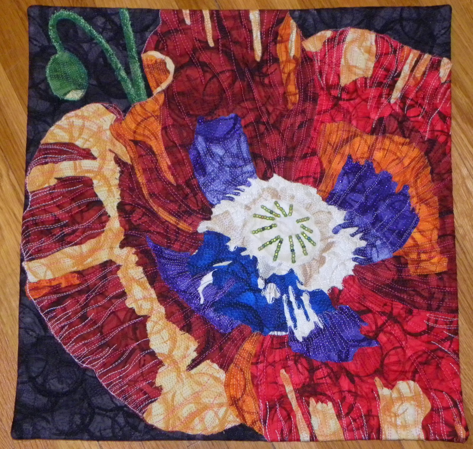 Best Threads For Machine Quilting: Mary Jo's Cloth Design Blog: Creative Quilting With Thread
