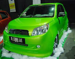 Modifikasi Mobil RUsh and Terios