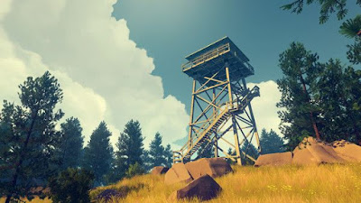 Firewatch gameplay on pc