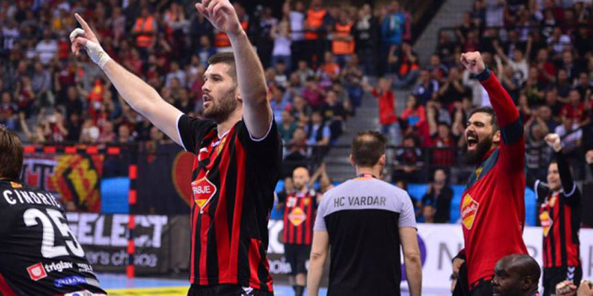 Vardar beats Kiel in first leg of CL quarters