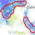 Ισχυρό Βαρομετρικό χαμηλό το Σάββατο ...φέρνει καταιγίδες χιόνια στα ορεινά και ισχυρούς ανέμους