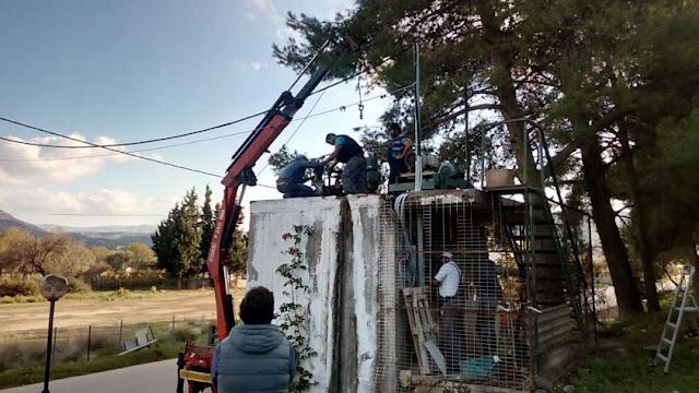 Αντικατάσταση του αντλητικού συγκροτήματος του αντλιοστασίου «Ιπποκράτης» στην Ερμιόνη