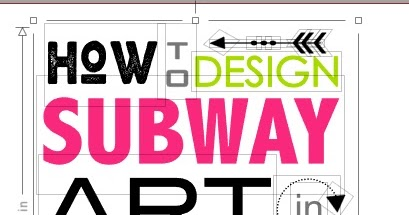 Secret to easily designing subway art in silhouette studio secret to easily designing subway art in silhouette studio silhouette school fandeluxe Image collections