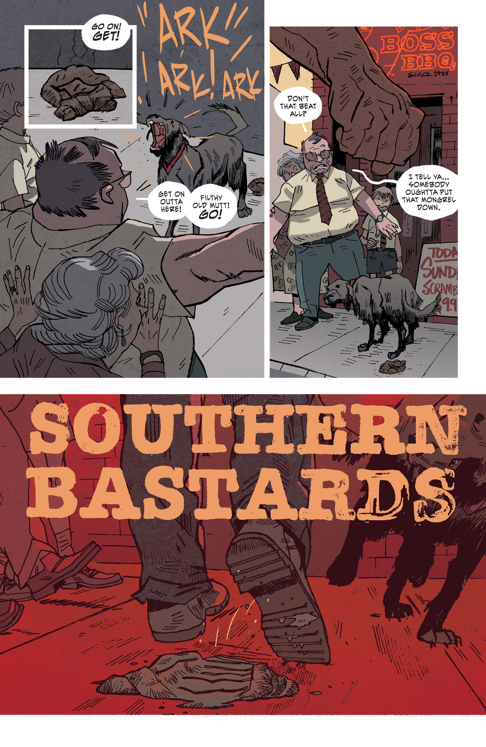 Read online Southern Bastards comic -  Issue #3 - 4