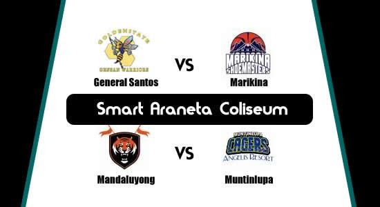 List of MPBL Games: June 12 at Smart Araneta Coliseum 2018 MPBL Anta Datu Cup