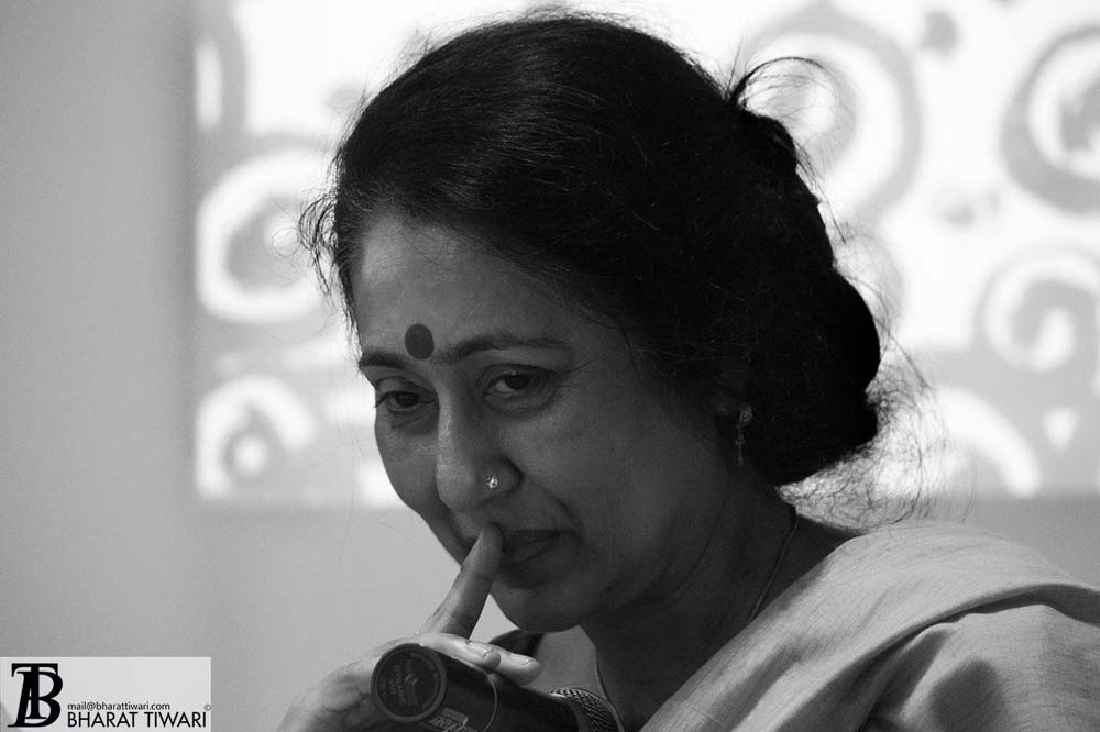 Anamika Poetess at the launch of Translating Bharat, Reading India at oxford book store