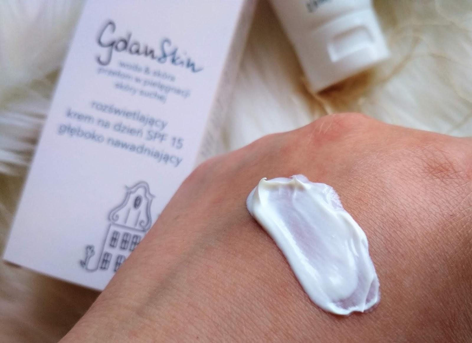 gdanskin, krem do twarzy ziaja gdanskin, blog kosmetyczny