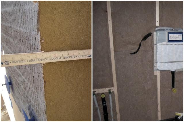 fibra di legno dettagli cantiere
