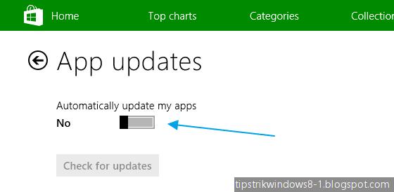 Cara Menonaktifkan Download Update-an secara Otomatis dari Windows Store 12