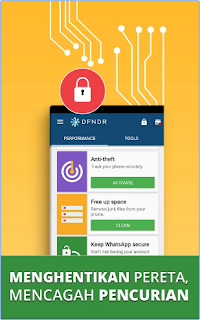 DFNDR: Antivirus Pembersih Apk - Free Download Android Application