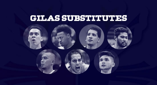 List of 17 Substitute Gilas Players in case the 9 of the current Gilas players were banned by FIBA