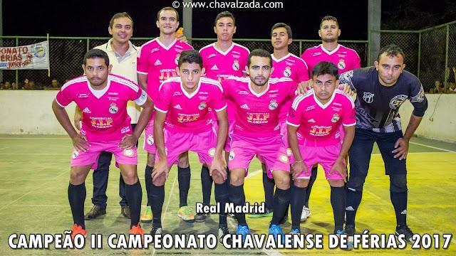 Real Girls, Fonte Contabilidade e Real Madrid se consagram campeões chavalenses de Futsal
