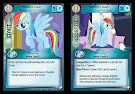 My Little Pony Rainbow Dash, Ambassador of Loyalty Equestrian Odysseys CCG Card