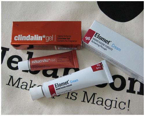 Clindlin gel แต้มสิวอักเสบ