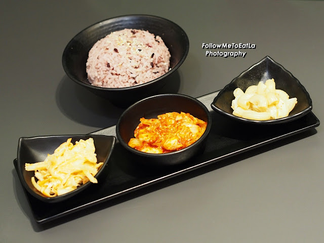 Set Menu With Banchan & DubuYo Rice
