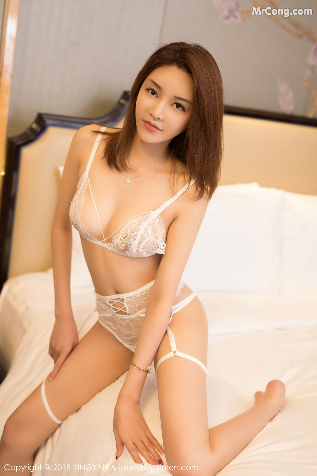 XingYan Vol.105: Người mẫu Selina思思 (40 ảnh)