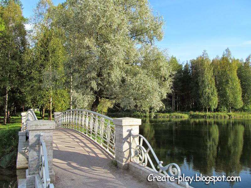 мостик в Гатчинском парке