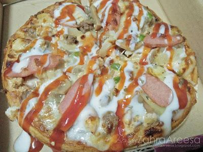 Pizza jalanan kamunting