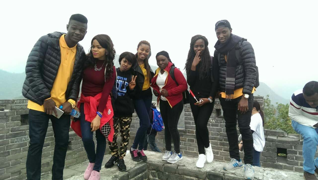 Nigerians Students On Chinese Scholarships. Photo: Punch