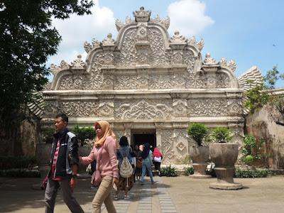 Pintu Gerbang Taman Sari Keraton Yogyakarta
