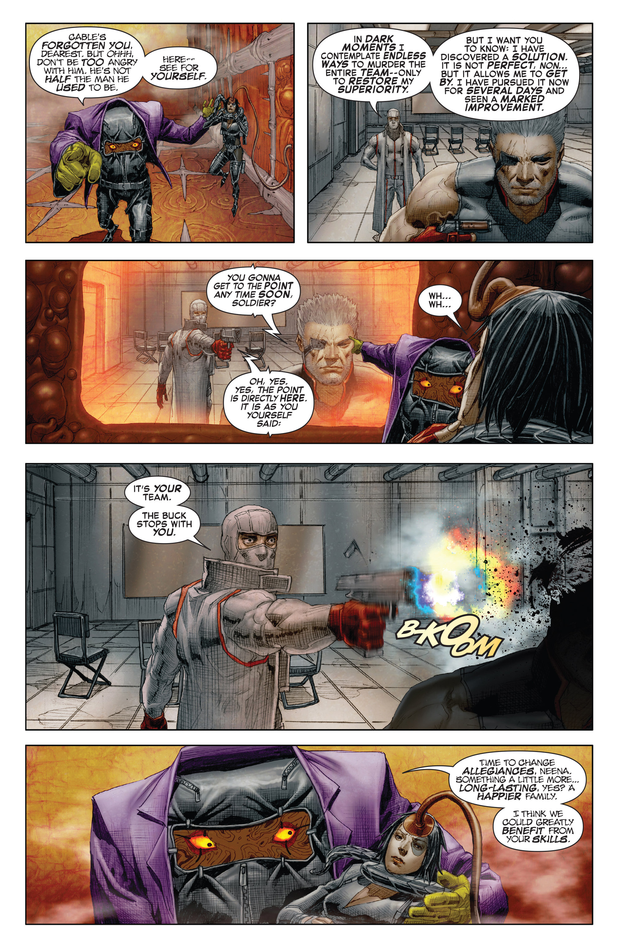 Read online X-Force (2014) comic -  Issue #7 - 20