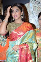 Shriya Saran Looks Stunning in Silk Saree at VRK Silk Showroom Launch Secundrabad ~  Exclusive 048.JPG
