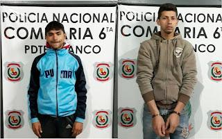 Jóvenes imputados por homicidio doloso por la fiscal Lolia Zunilda Martínez.