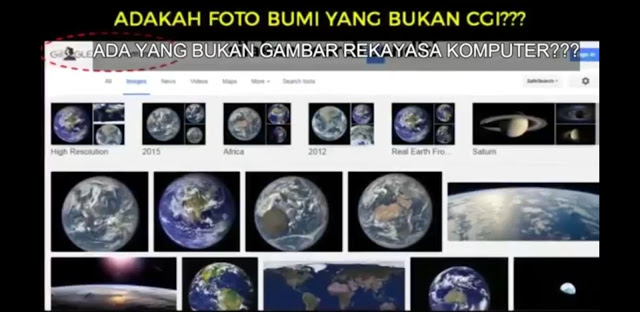 Argumen Tolol Flat Earth