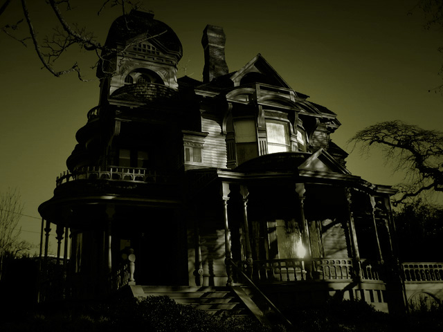 dark mansion
