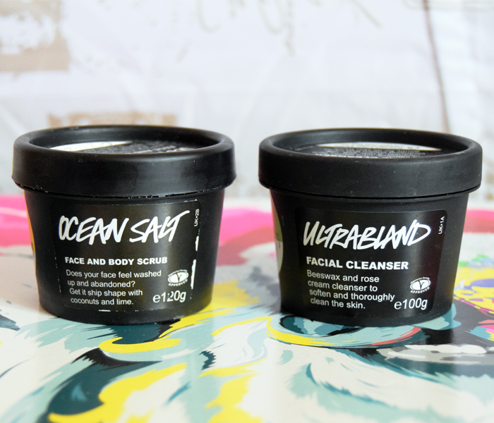 Lush Ocean Salt and Lush Ultrabland