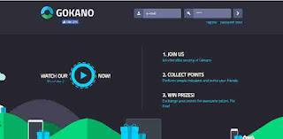 Gokano membagikan hadiah menggiurkan bagi kalian menyelesaikan mission/misi yang di siruh gokano contoh hadiahya handphone, laptop, dron, dan lain-lain