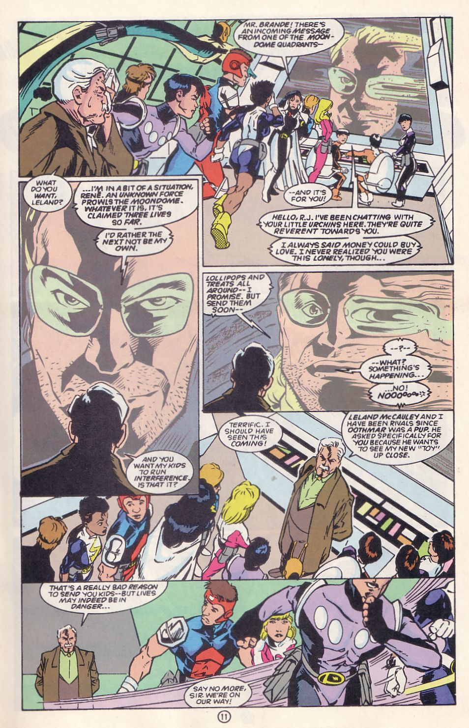 Legion of Super-Heroes (1989) 63 Page 11