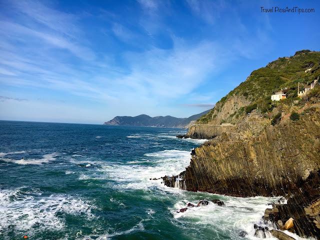 Village ed Riomaggiore, Cinque Terre, italie