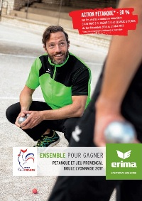 Catalogue Erima Pétanque 2017